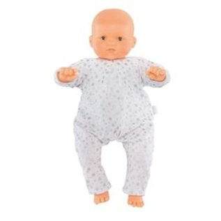 Corolle Pyjama wit met sterretjes voor babypop 52cm