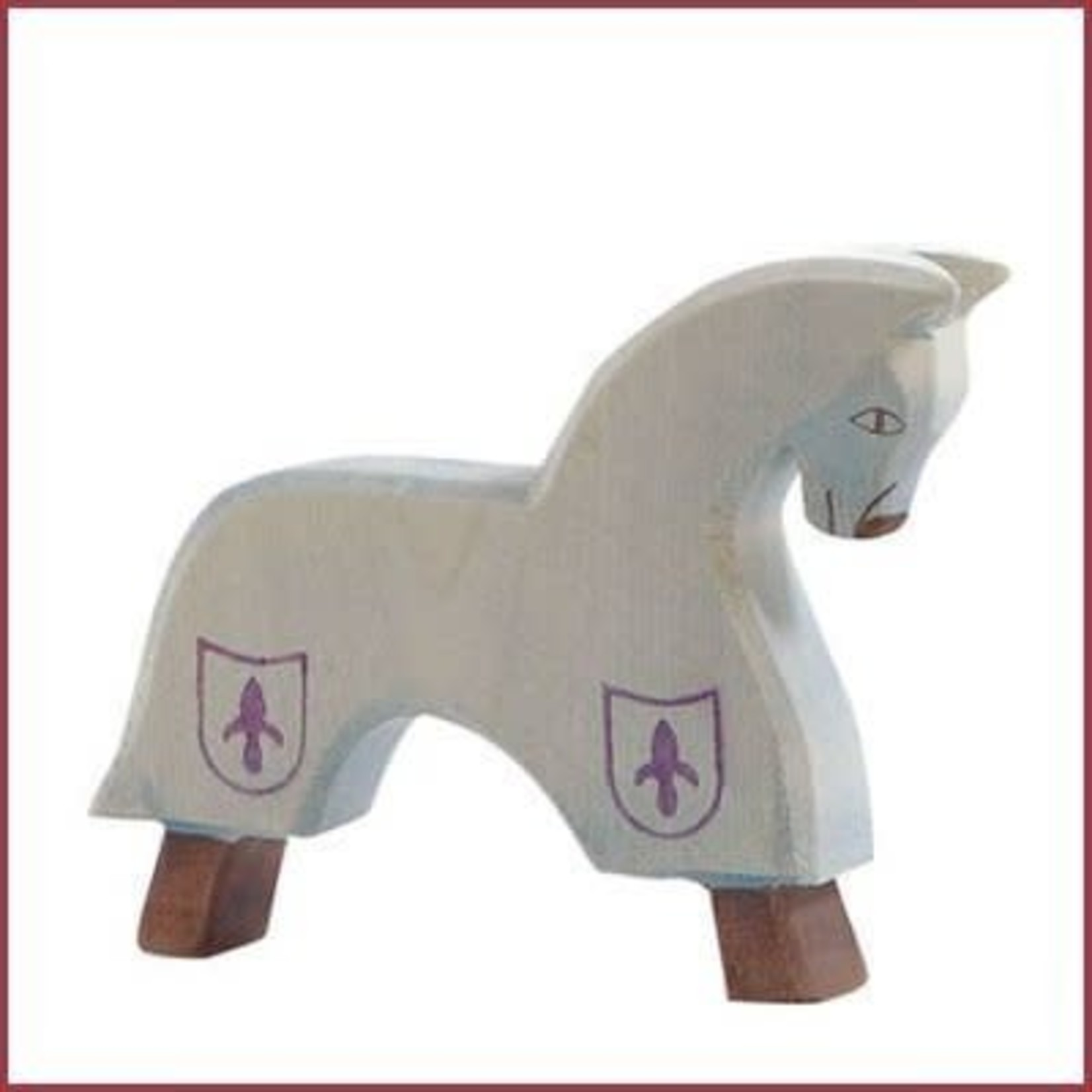 Ostheimer Paard voor Blauwe ridder