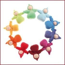 Grimm's Stoffen Kaboutermeisjes 10st regenboogkleuren