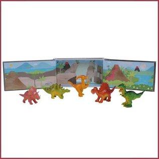 Tiger Tribe Dino's in een doosje