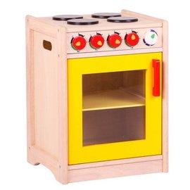 Santoys Fornuis/keuken geel deurtje