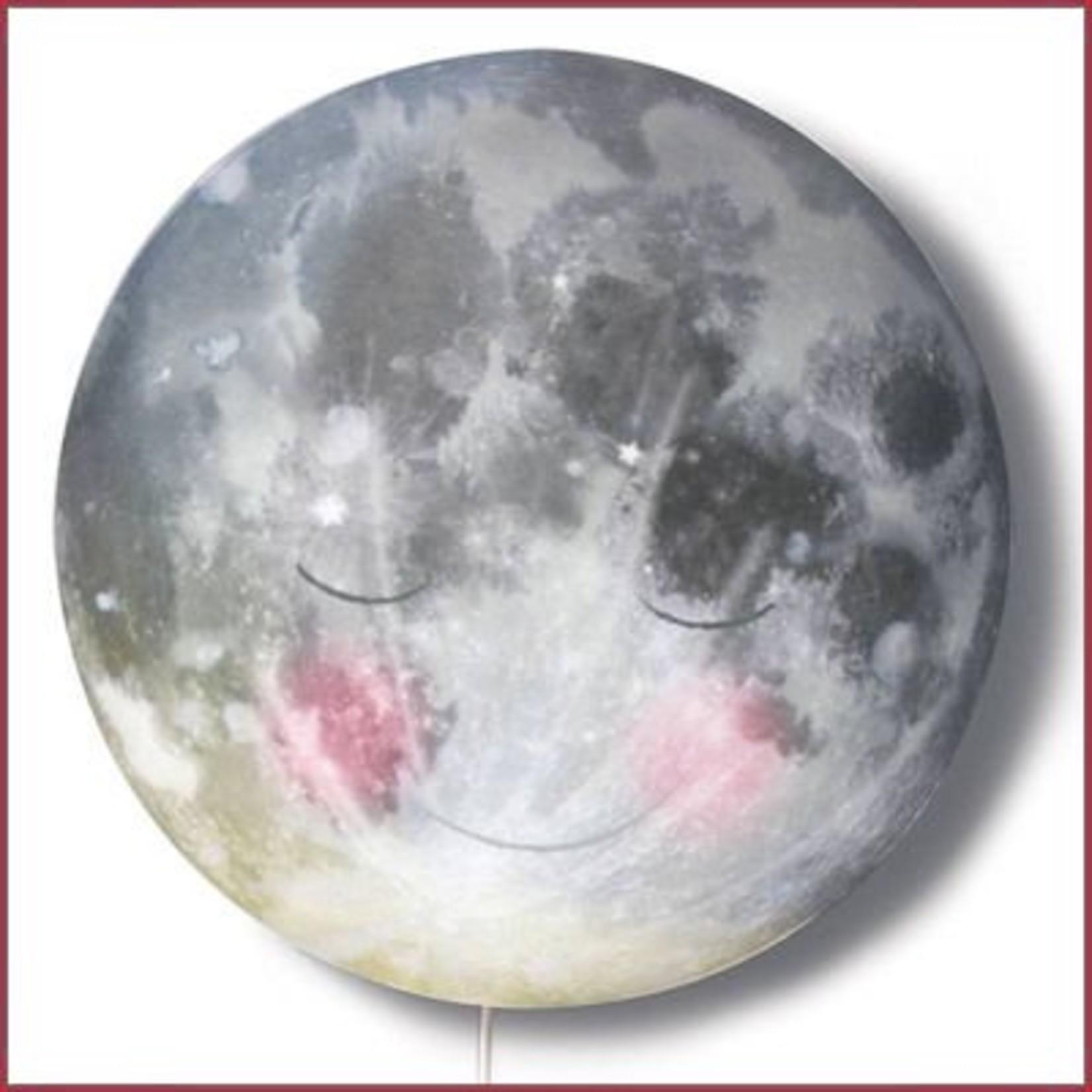 Hartendief Wandlamp Ga slapen maan