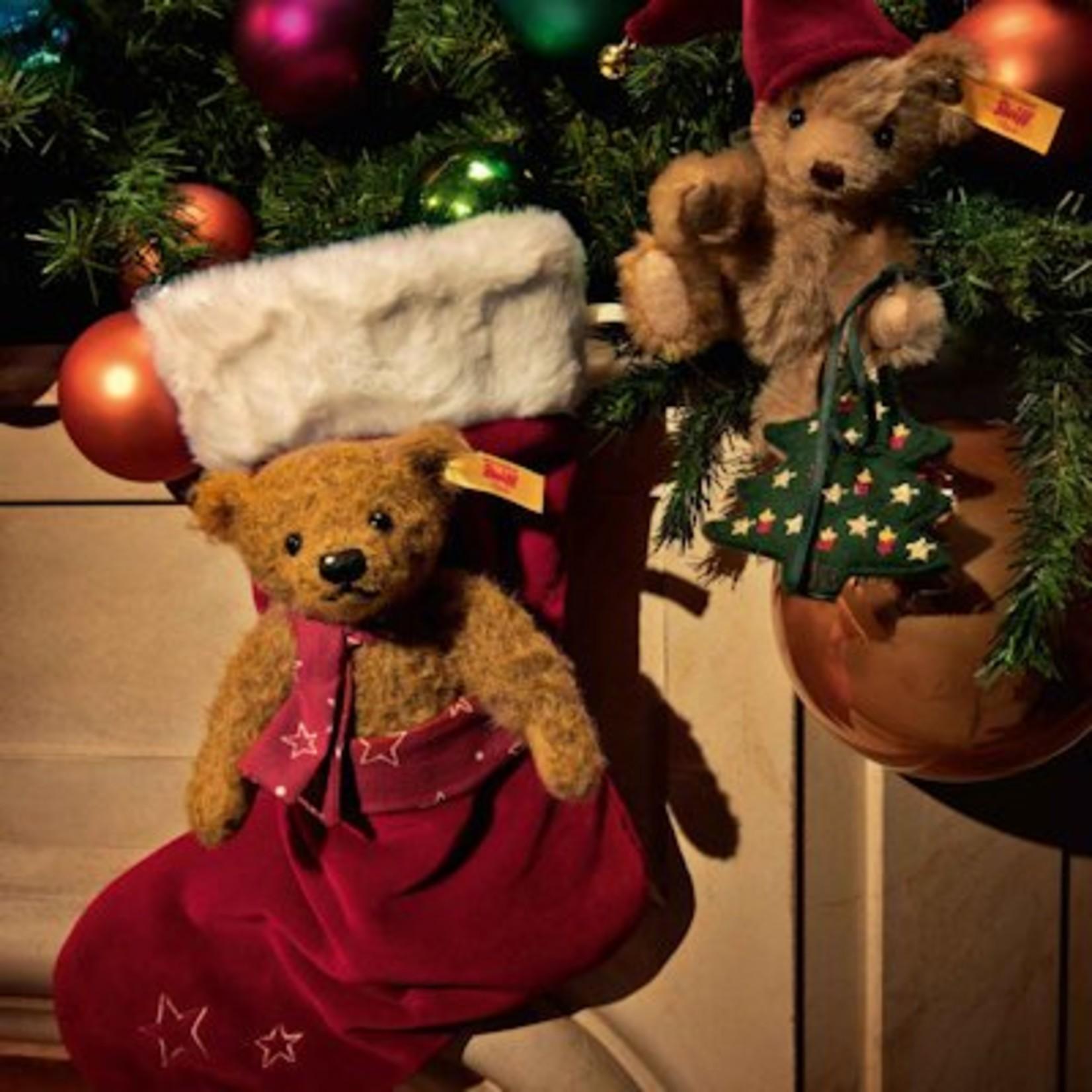 Steiff Teddybeer Nic met kerstboom