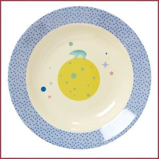 Rice Rice Kids Bowl with Universe Print