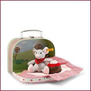 Steiff Muis mr Little met koffer