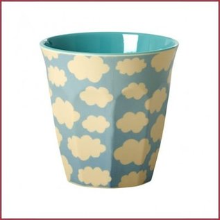 Rice Rice Cup Two Tone Medium - Cloud Print