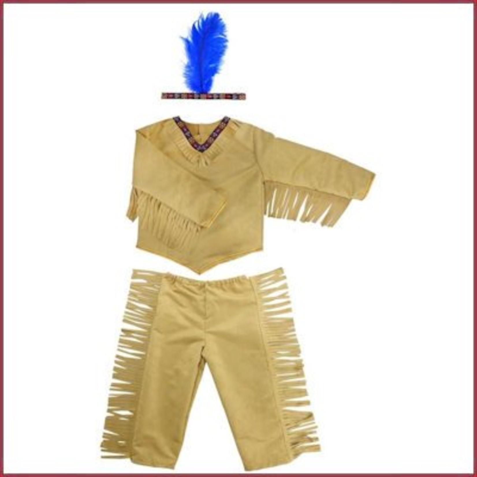 Great Pretenders Indianenpak - Native dress M