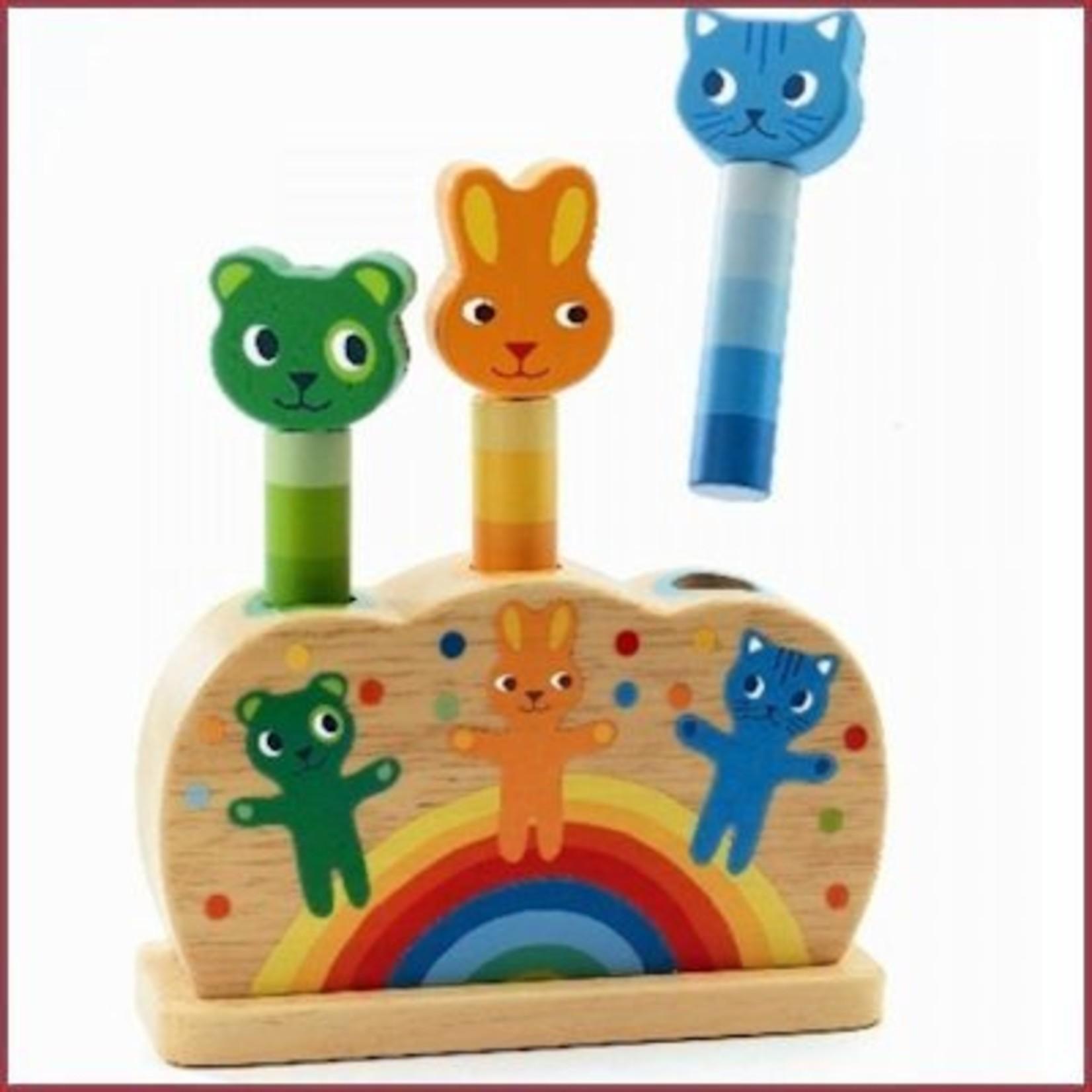 Djeco Pop-up puzzel Pidoo