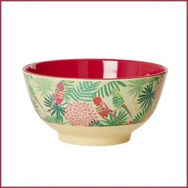 Rice Rice Bowl Two Tone Medium - Tropical Print