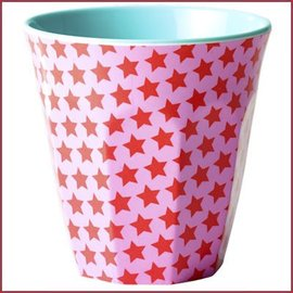 Rice Rice Cup Two Tone Medium - Girl Star Print