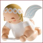 Wendt & Kühn Kleine, zwevende Engel met notenblad