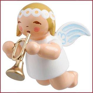 Wendt & Kühn Kleine zwevende engel met trompet