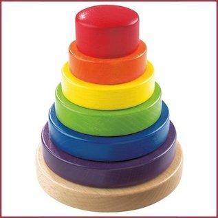 Haba Opsteekspel Regenboog