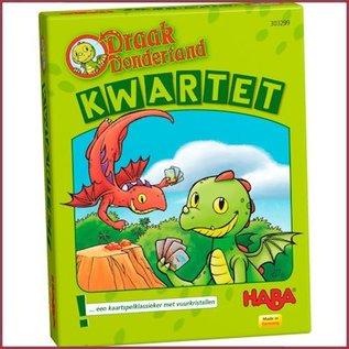 Haba Kaartspel Kwartet Draak Dondertand