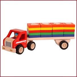 Santoys Vrachtauto met geometrische vormplaten I.V.