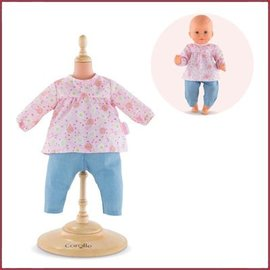 Corolle Set Blouse en Denim Broekje BB30