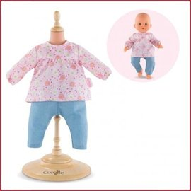 Corolle Set Blouse en Denim Broekje BB36