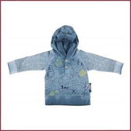 Sigikid Shirt met lange mouw, blauw melange province