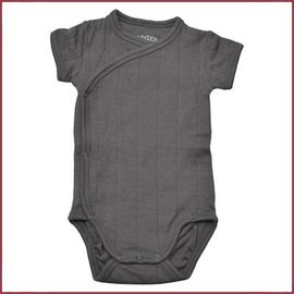 Lodger Romper Solid Carbon