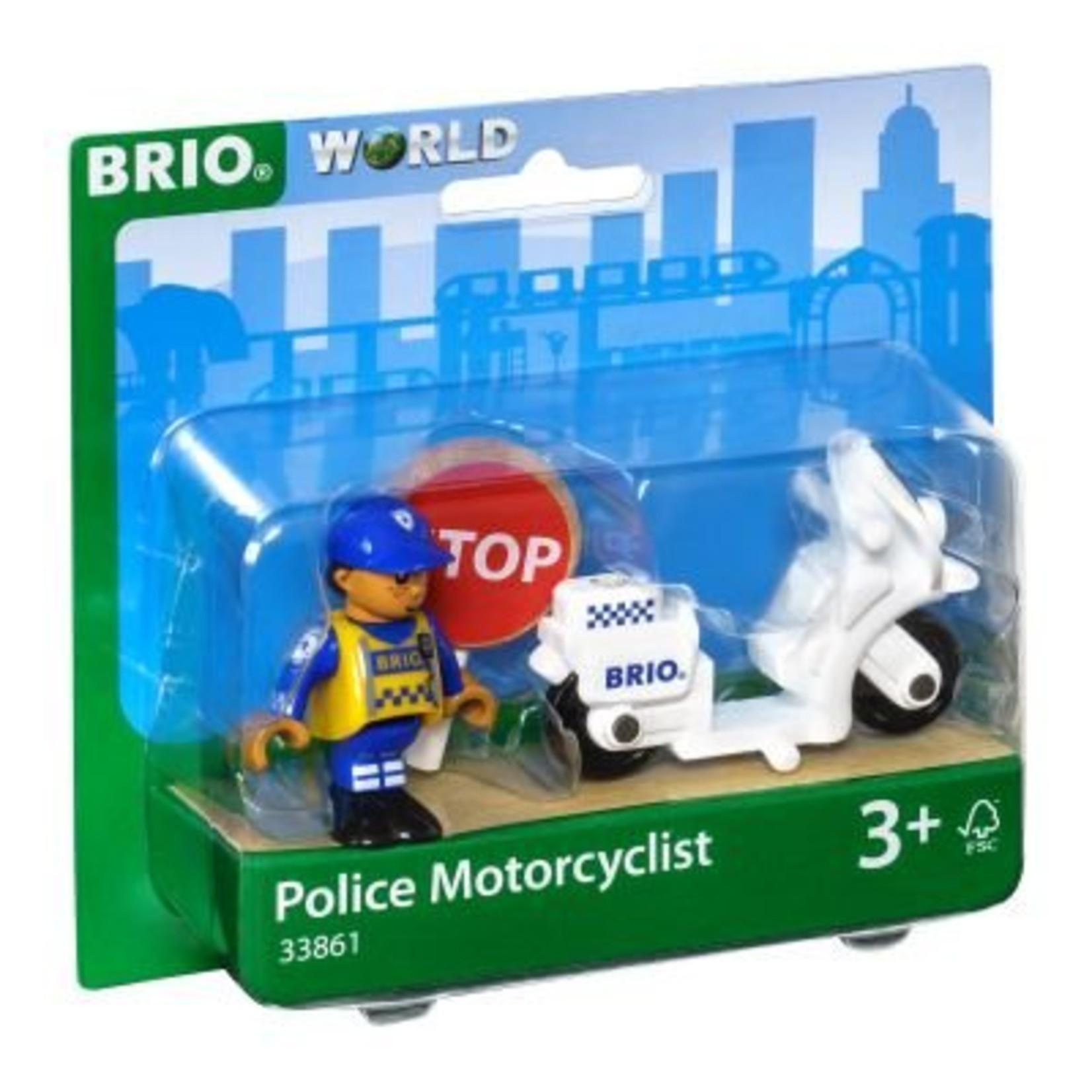 Brio Police Motorcycle