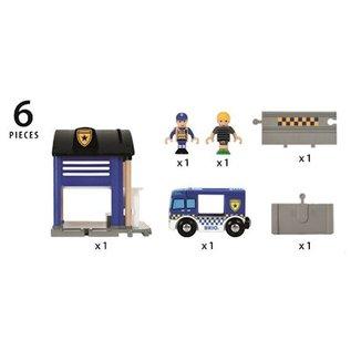 Brio Politie Transport Set
