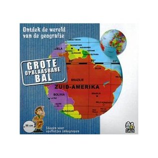 Craenen Opblaasbare bol 50 pol. maxi globe caly toys