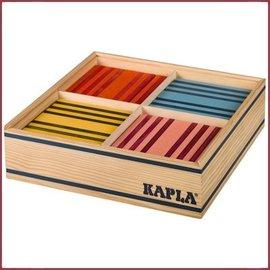 Kapla Kapla Kist100 Plankjes 8 kleuren