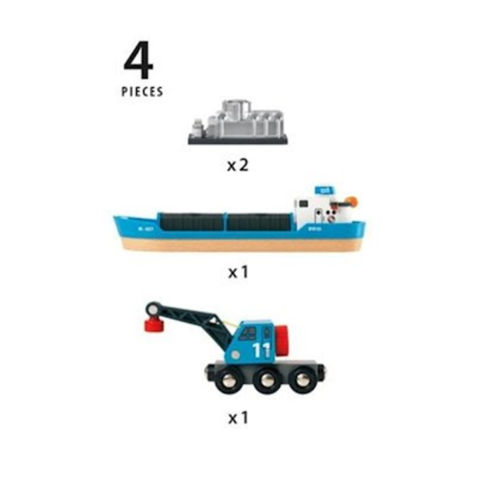 Brio Vrachtschip met kraan