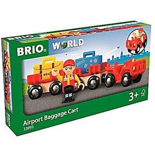 Brio Vliegveld bagage wagen
