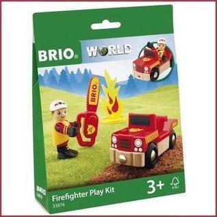 Brio Brandweer speel set