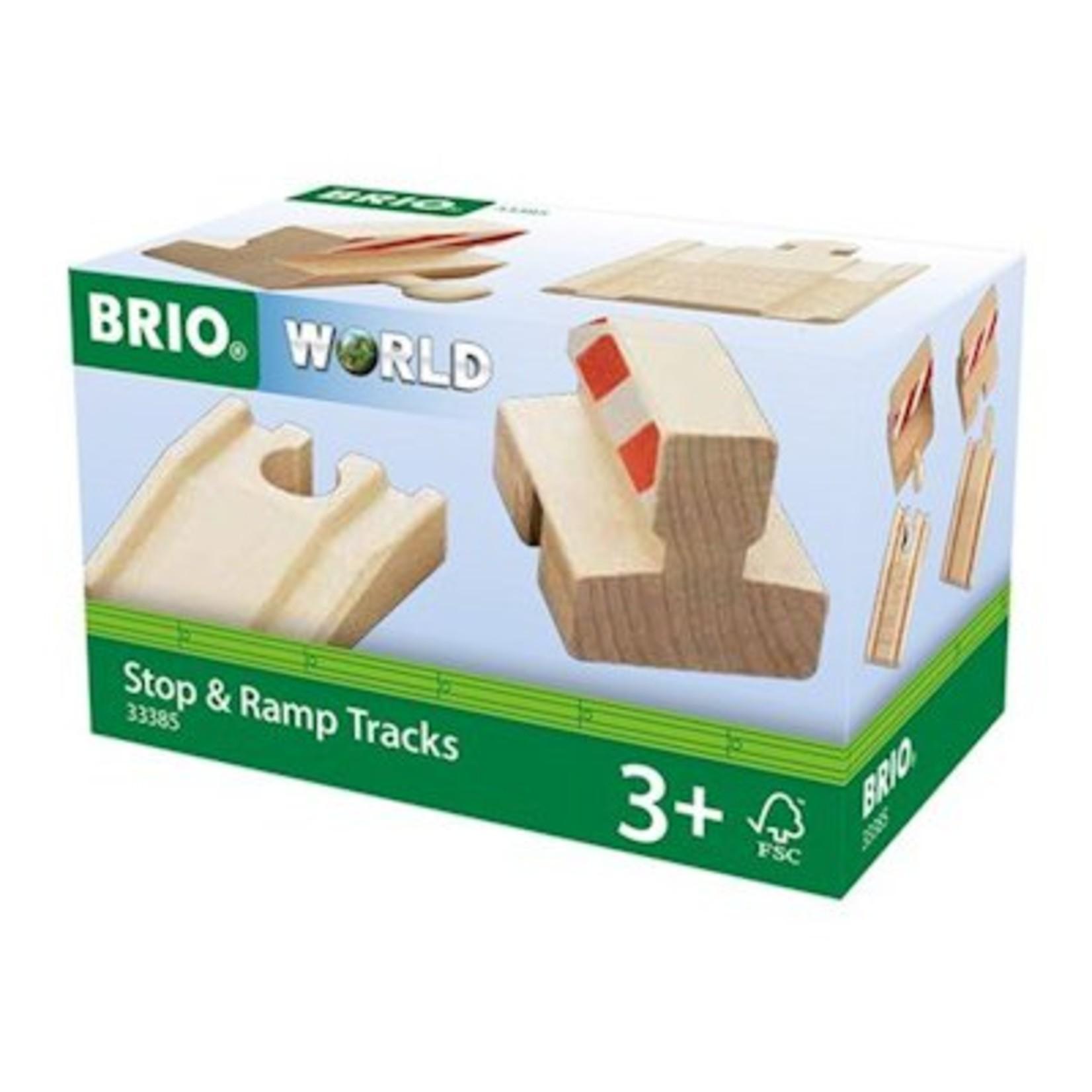 Brio Stop & ramp rail