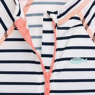Lässig UV werend Zwempakje met korte mouw meisjes 24mnd
