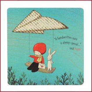Santoro Poppi Loves Mini Briefpapierboekje met stickers