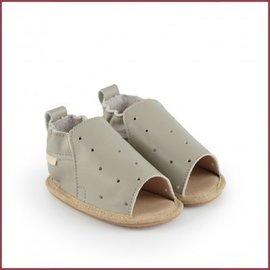 Boumy Boumy schoentje Sam Pale Grey Leather