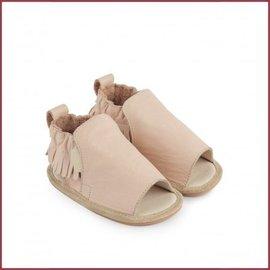 Boumy schoentje Noa Pastel Pink Leather sandaaltje