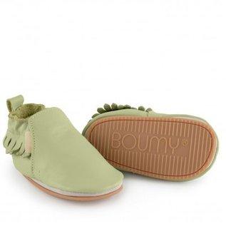 Boumy Boumy schoentje Bao Milky Green Leater