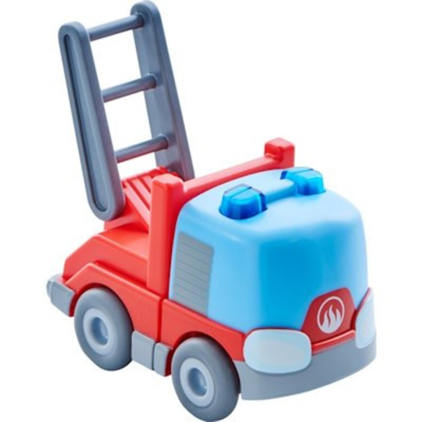 Haba Mijn eerste knikkerbaan Rollebollen - Ladderwagen