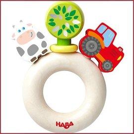 Haba Houten rammelaar boerderijwereld