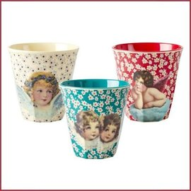 Rice Rice Cup Two Tone Medium - Christmas Prints