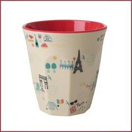 Rice Rice Cup Two Tone Medium - Paris Print
