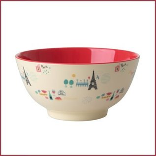 Rice Rice Bowl Two Tone Small - Paris Print