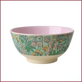 Rice Rice Bowl Two Tone Small - Lupin Print