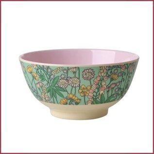 Rice Rice Bowl Two Tone Small - Lupin Print