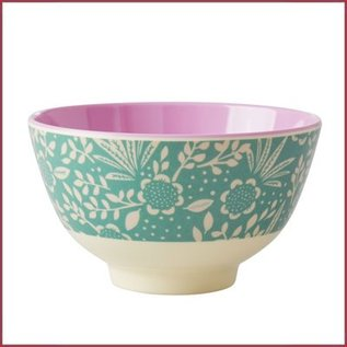 Rice Rice Bowl Small Fern & Flower