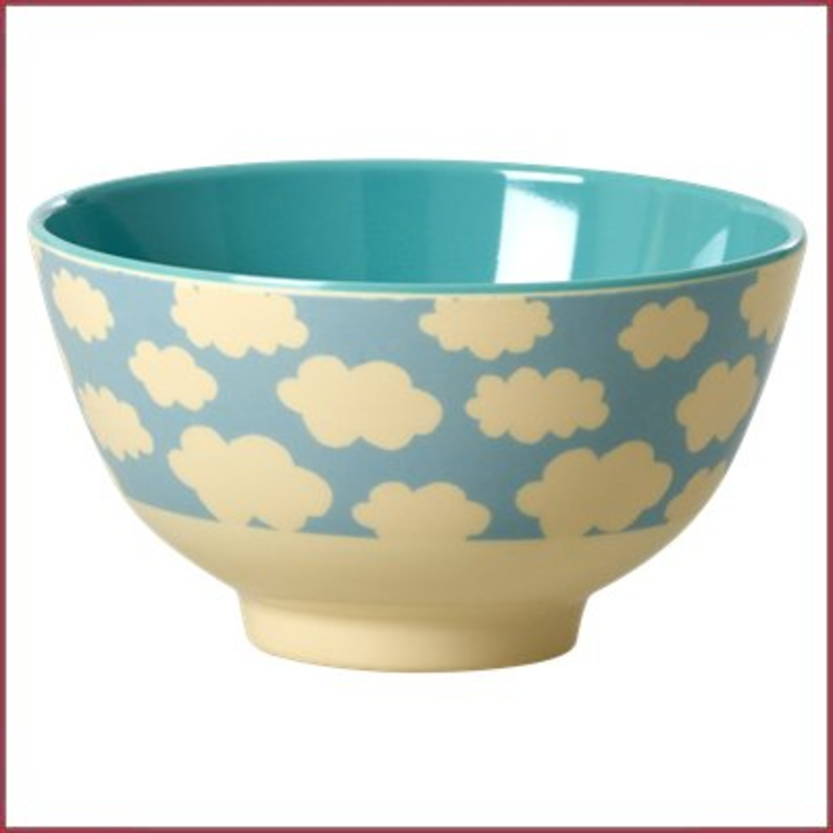 Rice Rice Bowl Two Tone Small - Cloud Print