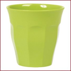 Rice Rice Cup Medium Uni Kleur - Groen
