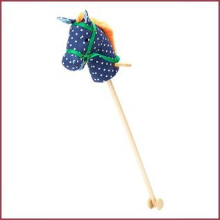 Rice Stokpaardje Rice - blauw