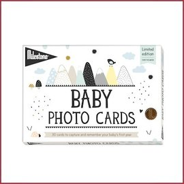 Lanco Milestone Baby Photo Cards - Over the Moon