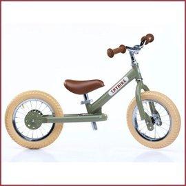 Trybike Trybike steel vintage loopfiets groen