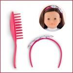Corolle Set van haarband en kam voor Ma Corolle poppen (36 cm)